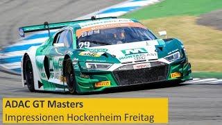 Download Audi legt vor: Impressionen Hockenheim Freitag ADAC GT Masters Video
