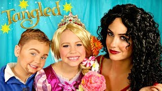 Download Tangled Makeup and Costumes Rapunzel, Mother Gothel, and Flynn Rider Video