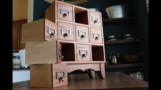 Download How to Make an Apothecary Chest of Drawers Video
