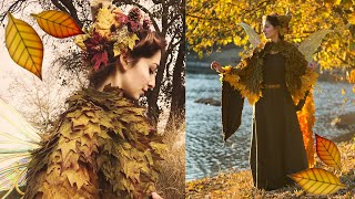 Download How I Made the Autumn Fairy Leaf Cape Video