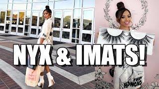 Download MAKEUP EVENTS AT NYX & IMATS!! ft. NinasMakeup | Liane V Video