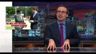 Download John Oliver taken on the British Museum for all the stolen artifacts! Video