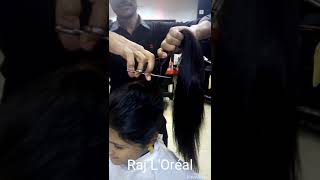 Download Very very long Haircut & blow-dry Video