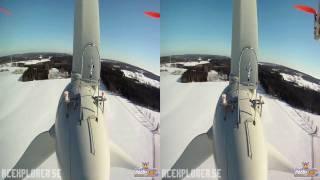 Download HD 3D FPV - 3D Winter - RCExplorer (2 GoPros) (Aerial video) Video
