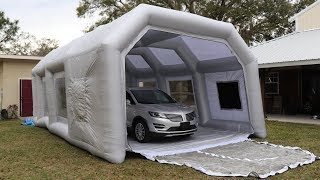 Download I Bought an INFLATABLE Paint Spray Booth from China! Video