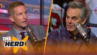Download Joel Klatt and Colin Cowherd on Alabama's title win and the need for an 8-team playoff | THE HERD Video