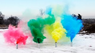 Download HOW TO MAKE COLORED SMOKE GRENADES Video