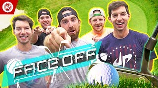 Download Dude Perfect Golf FACE OFF | Jon Rahm & Wesley Bryan Video