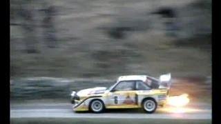 Download Audi Sport Quattro & Audi Quattro S1 Highlights 1985-86 Part 2 Video