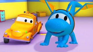 Download Hector o helicóptero é um Dragão ! Oficina de Pintura do Tom   Desenhos animados para crianças Video