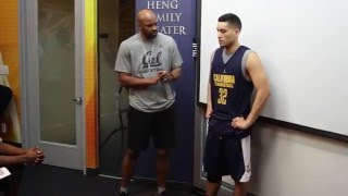Download Cal Men's Basketball: Walk-on Brenden Glapion Receives Surprise Scholarship Video