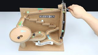 Download Wow! Amazing DIY Marble Run Machine without DC Motor Video