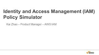 Download Getting Started with the IAM Policy Simulator Video