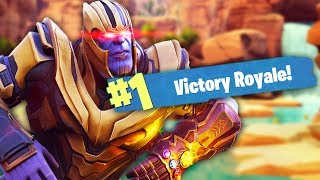 Download OWNING THANOS IN FORTNITE | Fortnite Battle Royale (Thanos Mode) Video