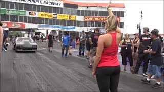 Download Kye Kelley blistering hit at the Small Tire Nationals with help from Lizzy Musi Video