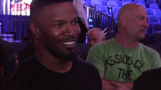 Download Jamie Foxx Reacts To Canelo Alvarez vs Gennady GGG Golovkin. ″This is Vegas Come On! HoopJab Boxing Video