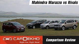 Download Mahindra Marazzo vs Tata Hexa vs Toyota Innova Crysta vs Renault Lodgy: Comparison Video