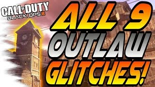 Download *NEW* ALL 9 OUTLAW GLITCHES! - Secret Rooms, Wallbreaches (Black Ops 3/BO3 Glitches & Secrets) Video
