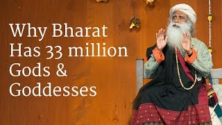 Download Why Bharat Has 33 million Gods & Goddesses | Sadhguru Video