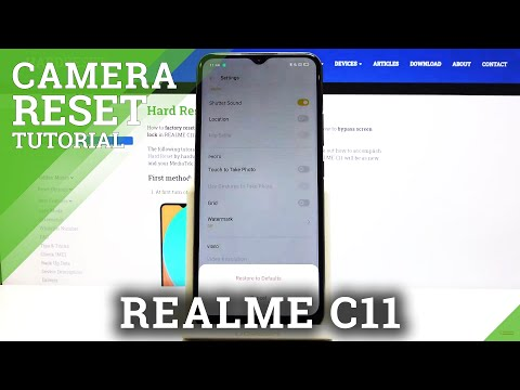 How to Reset Camera in REALME C11 – Fix Camera Configuration