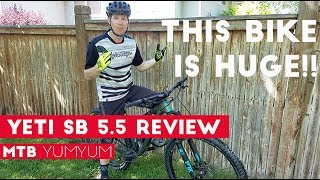Download 2017 Yeti SB5.5 Test Ride & Review Video