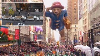 Download Sanitation Trucks Are Being Used To Protect Trump Tower For Thanksgiving Parade Video