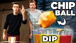 Download Chip Dip Pong - FOOD SPORTS Video