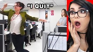 Download PEOPLE QUITTING THEIR JOB ON CAMERA Video