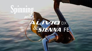 Download Spinning with Shimano Alivio DX & Sienna FE Video