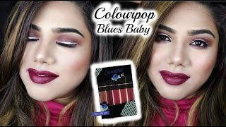 Download COLOURPOP LIQUID LIPSTICK SWATCHES | Blues Baby lip bundle | Indian/Asian Skintones | Shamvi Slays✔ Video