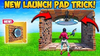 Download *NEW* EPIC LAUNCH PAD TRICK!! - Fortnite Funny Fails and WTF Moments! #567 Video