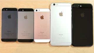 Download iPhone 5 vs iPhone 5S vs iPhone SE vs iPhone 6S Plus vs iPhone 7 Plus Video