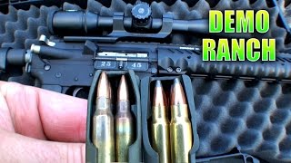 Download Heavy Hitting AR15 Bullet Video