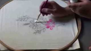 Download FABRIC PAINTING IN TELUGU Video