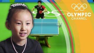 Download Ma Long vs. Jun Mizutani's Fantastic Rally... According to Children   Kids Call Video