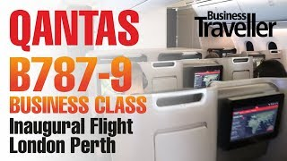Download Qantas London to Perth, Boeing Dreamliner 787-9 Business Class - Business Traveller Video