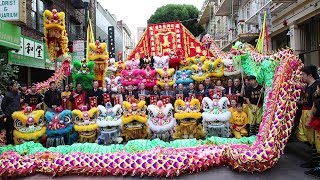 Download Yau Kung Moon USA ~ International Dragon and Lion Dance Day 2018世界龍獅日 Video