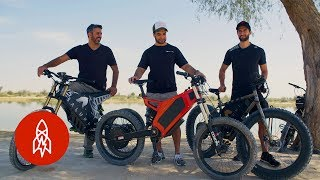 Download Riding the Dunes in Dubai's Electric Dirt Bikes Video