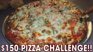Download $150 BIG WICK 8LB PIZZA CHALLENGE!! Video