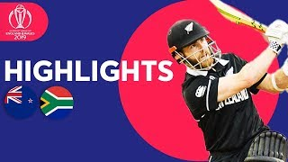 Download Final Over Drama! | New Zealand vs South Africa | ICC Cricket World Cup 2019 - Match Highlights Video