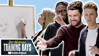 Download So Many BAD Drawings! The Art of Football ft Caspar Lee, F2 & More | Jack Whitehall: Training Days Video