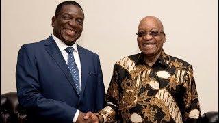 Download Mnangagwa has met President Zuma Video