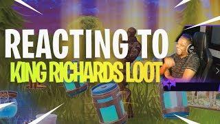 Download Reacting to KingRichardsLoot ″Teaming with King Richard″ Video