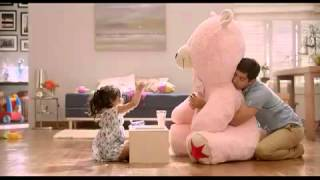 Download Oreo father daughter teddy TVC Video
