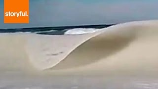 Download The Frozen Waves Of Cape Cod (Storyful, Crazy Weather) Video