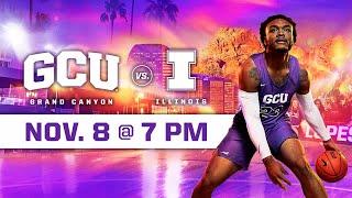 Download GCU Men's Basketball vs Illinois November 8, 2019 Video