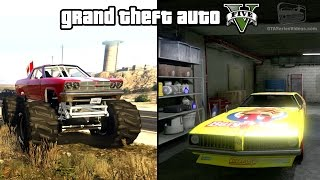Download GTA 5 - Cheval Marshall & Stock Car Races Gameplay (How to unlock) [PS4 & Xbox One] Video