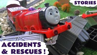 Download Thomas and Friends Toy Trains Accidents & Play Doh Digging Rigs Rescues - Family Friendly Fun TT4u Video