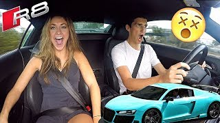 Download Driving The CRAZIEST Audi R8!! (It's a Steal at $70,000) Video
