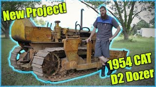 Download Welp, I Bought A New Toy! 1954 CAT D2 Video